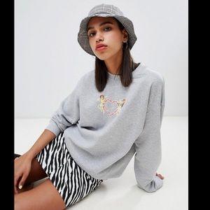 Adolescent Clothing Oversized Cherub Sweatshirt
